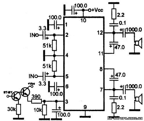 An7135 микросхемы радиотовары.